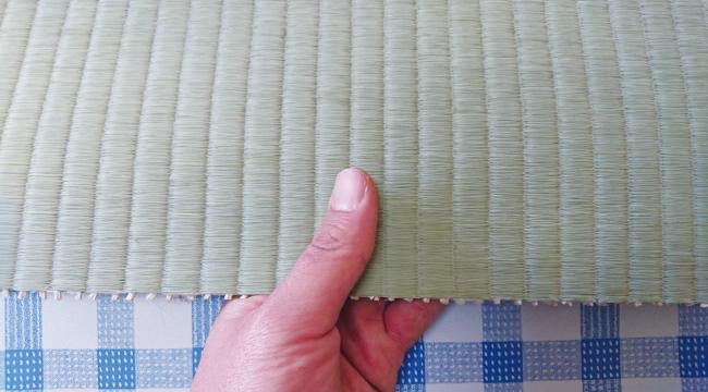 畳表の厚み