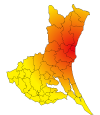 茨城県地図