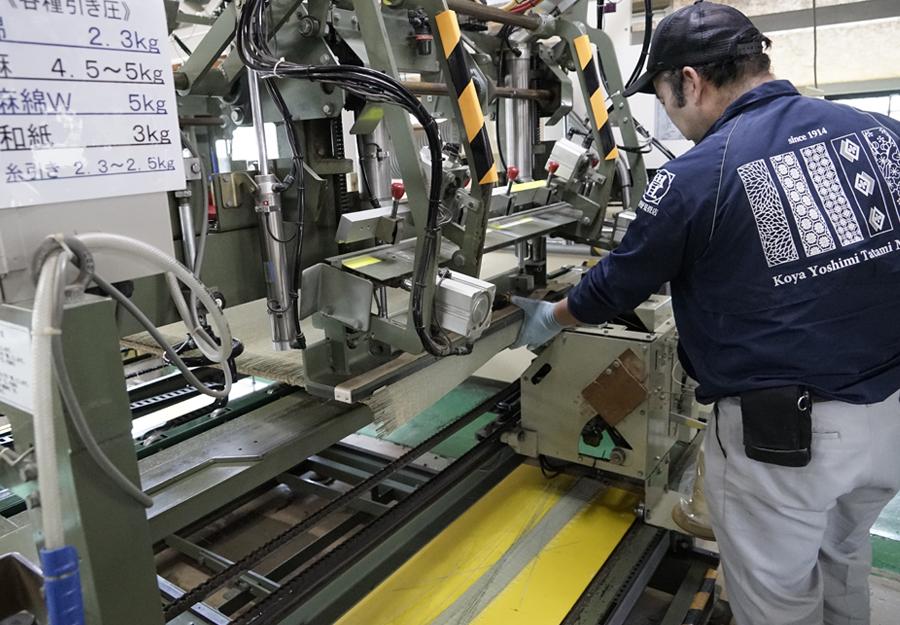畳製造設備(3)