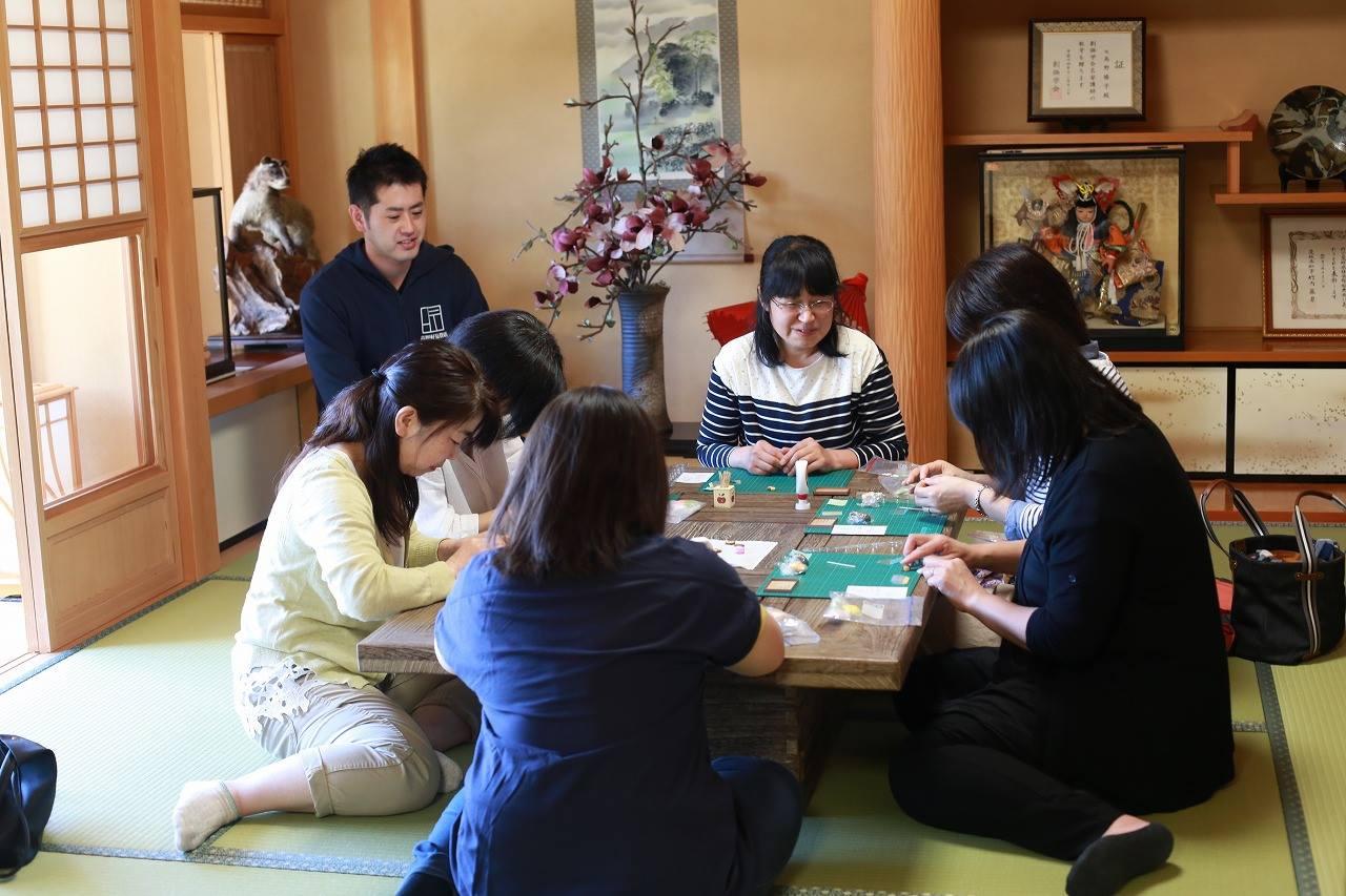 開催報告「第1回 TATAMI ライフスタイル セミナー 大人の手作り粘土教室」