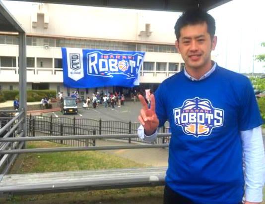 茨城ロボッツの試合を初観戦してきました。
