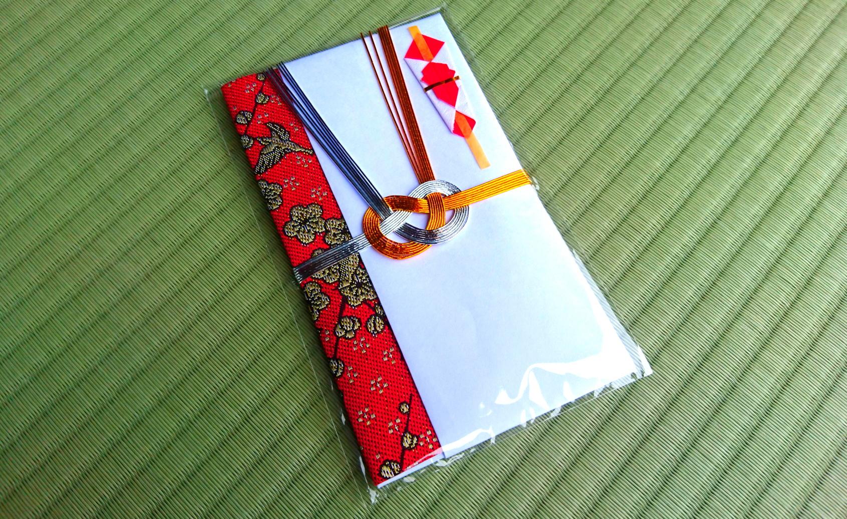 和雑貨くらぶ 新商品 畳縁のご祝儀袋「縁結びの神様」
