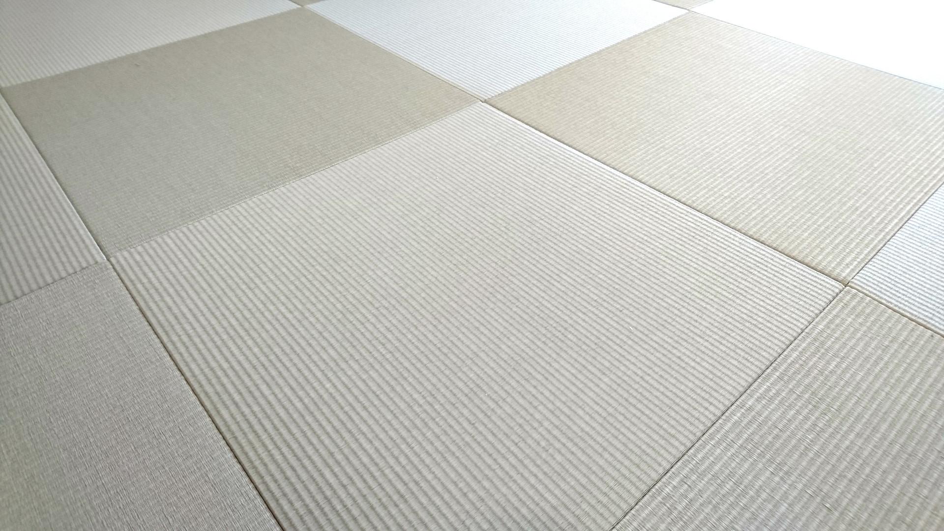 当店の1階和室を改装 縁付き畳から縁無畳へ
