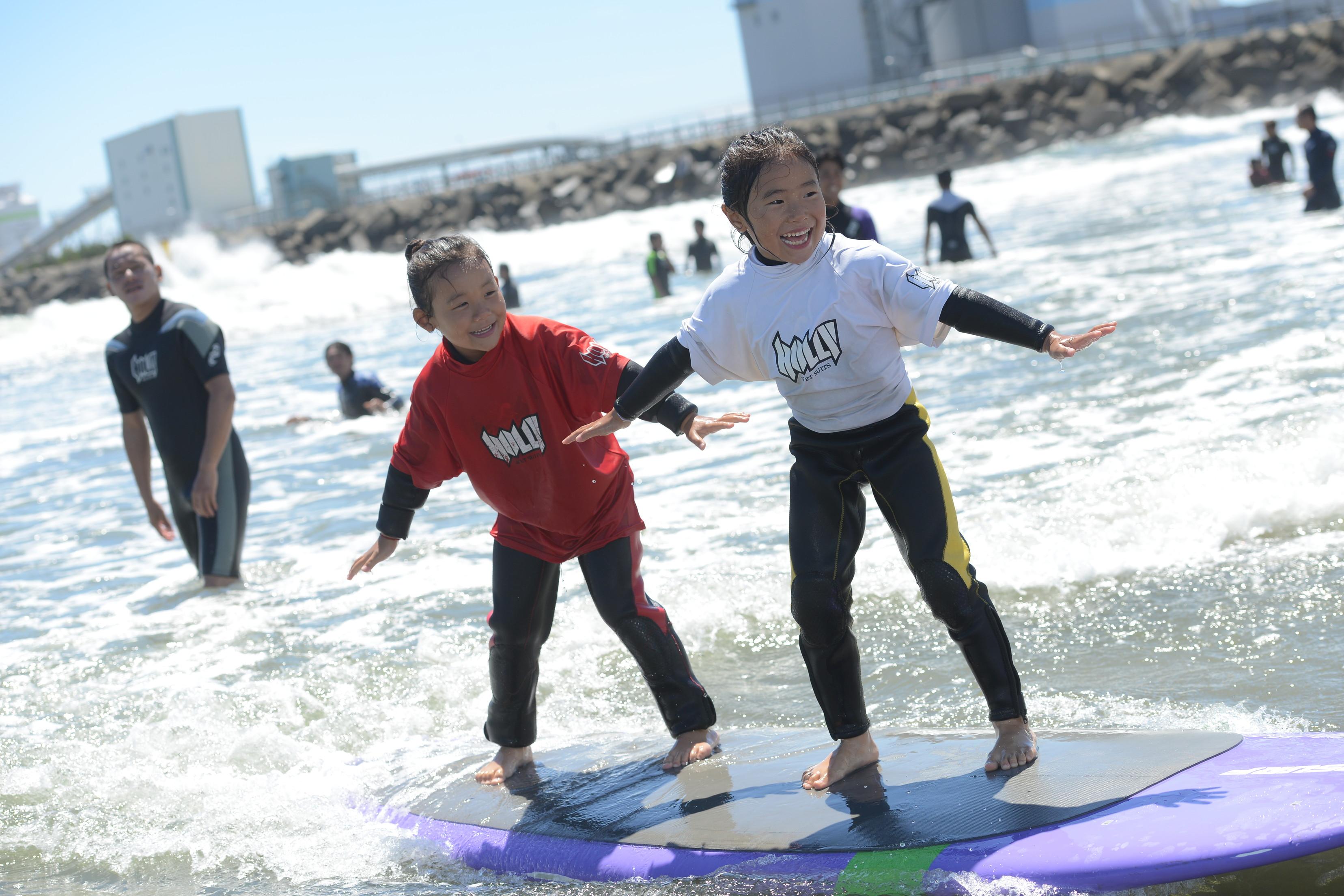 Tokai kids surfing & Hula challenge 2016