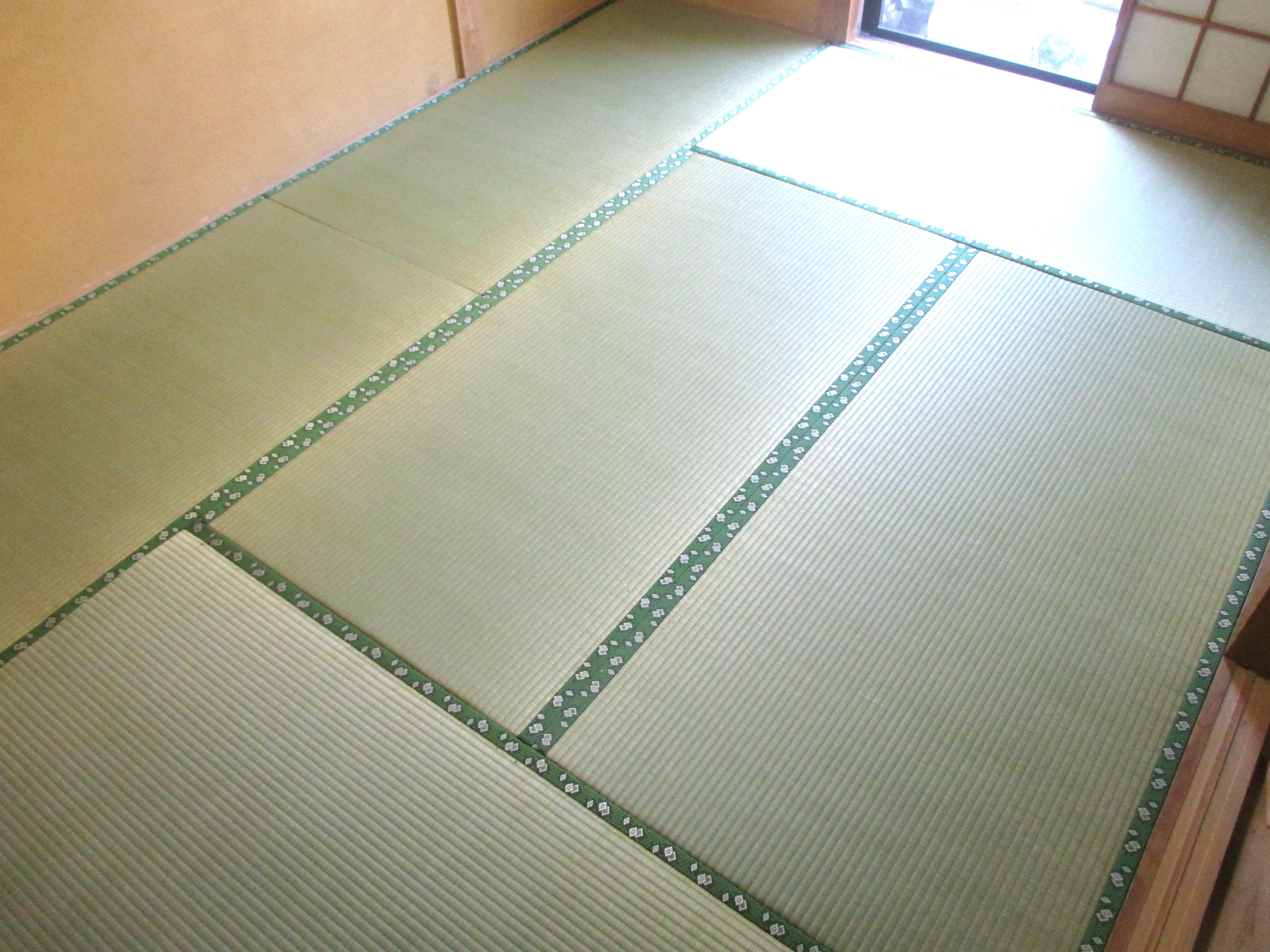 東海村 畳替え(畳表替え 地紋MJIII No.97) S様邸
