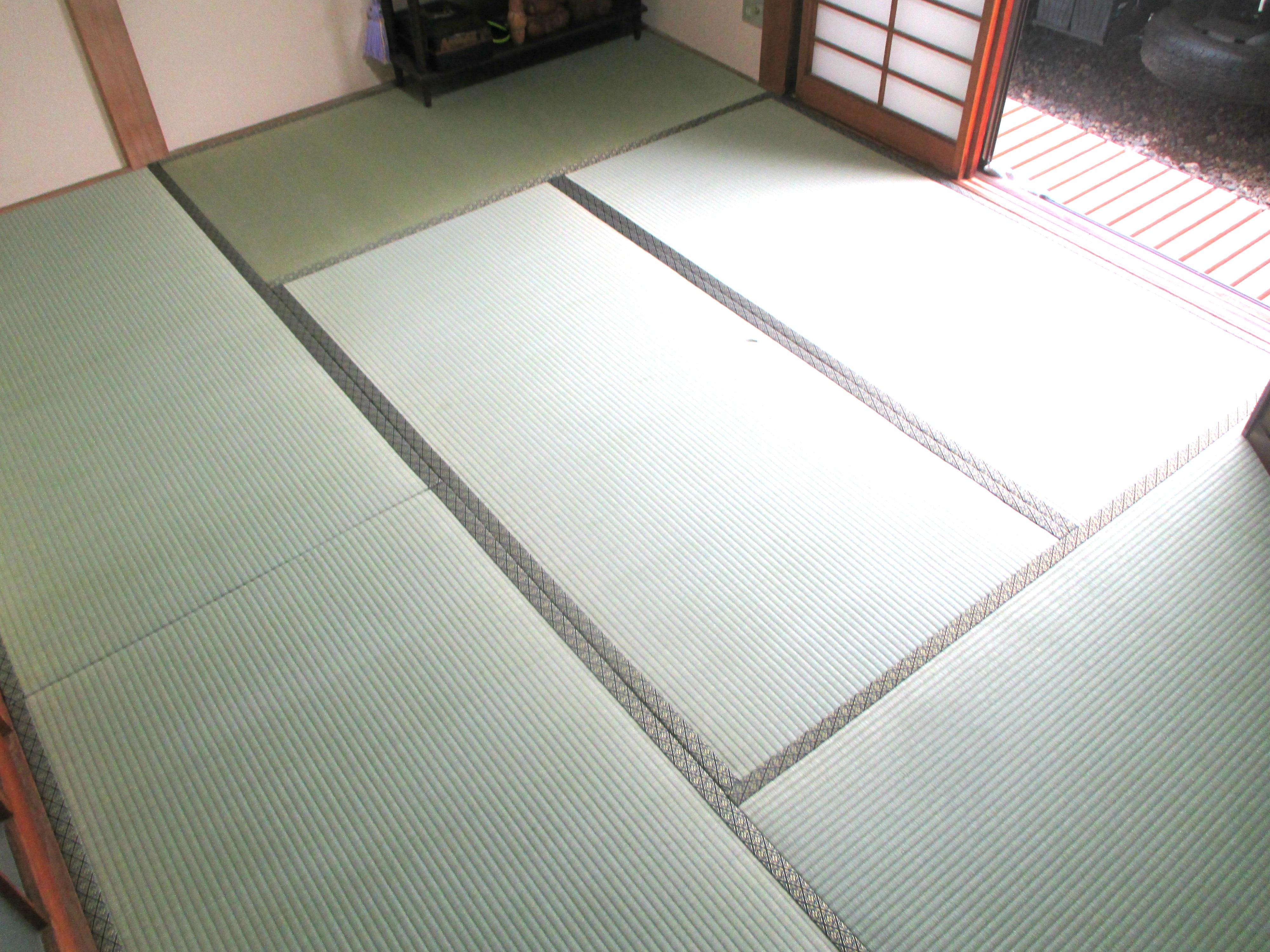 東海村 畳替え(畳表替え 新大宮 No.10)S様邸