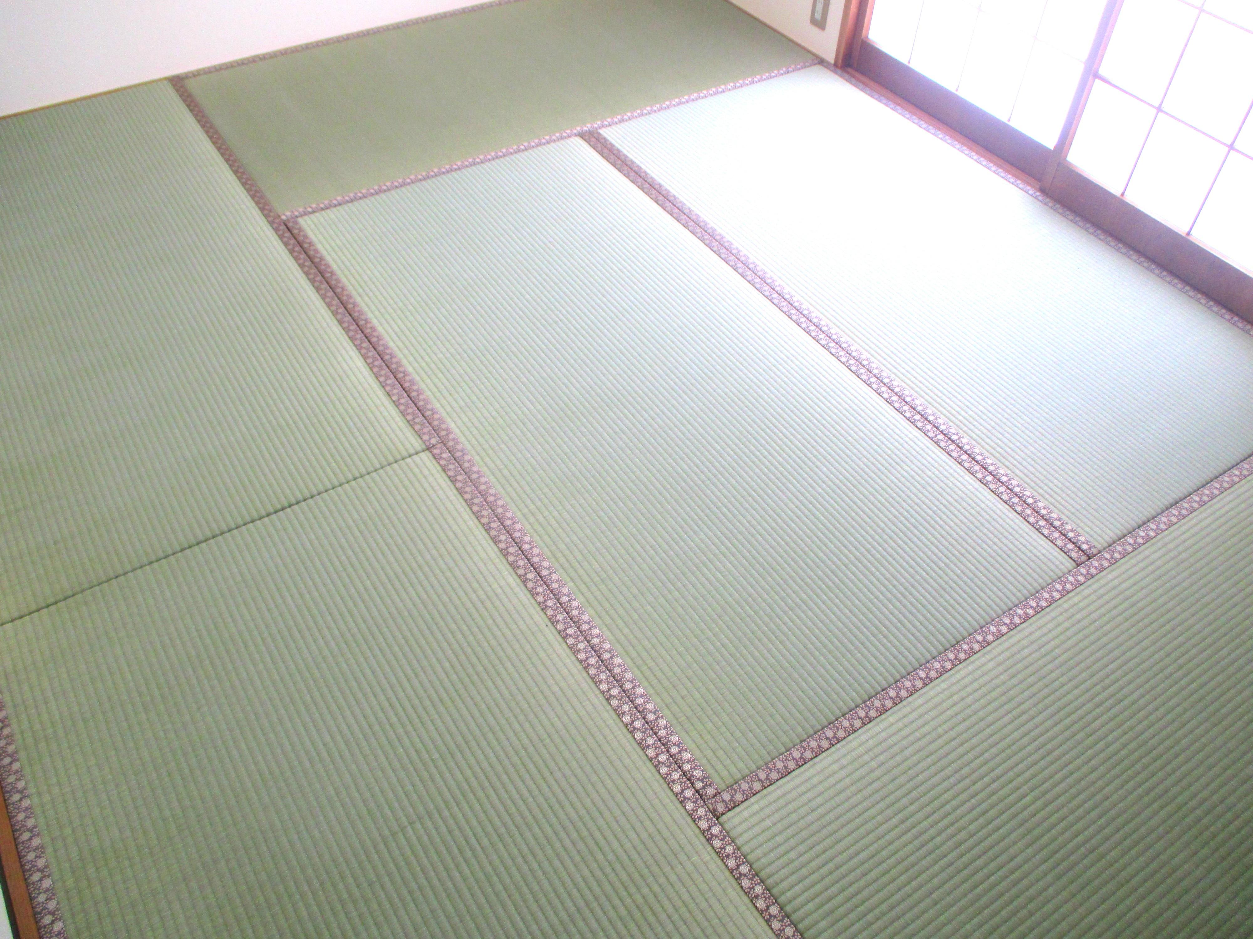 東海村 畳(畳表替え アラベスク No.570) M様邸(追加発注)