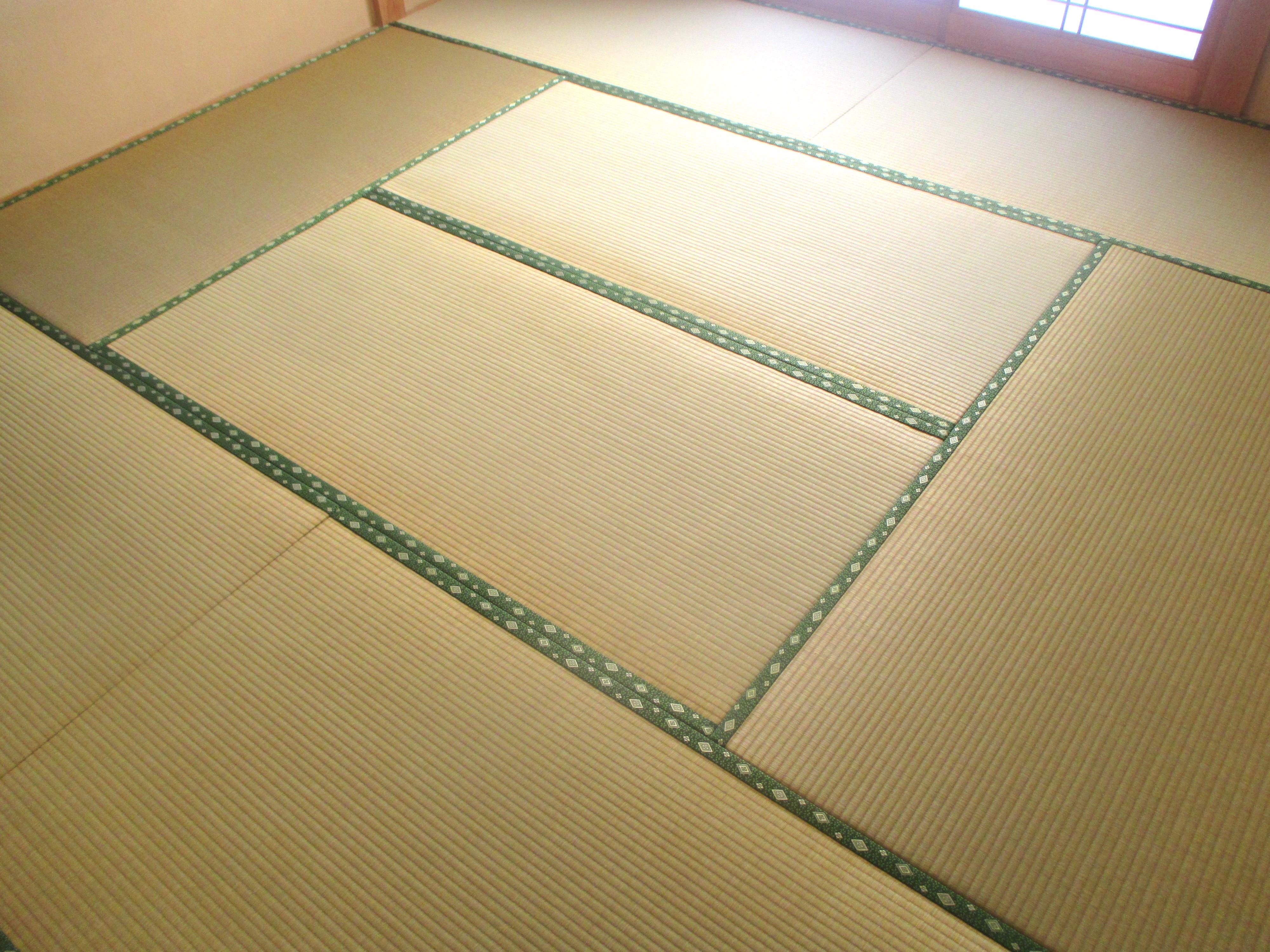 東海村 畳替え(畳裏返し アラベスクⅤ No.510)W様邸