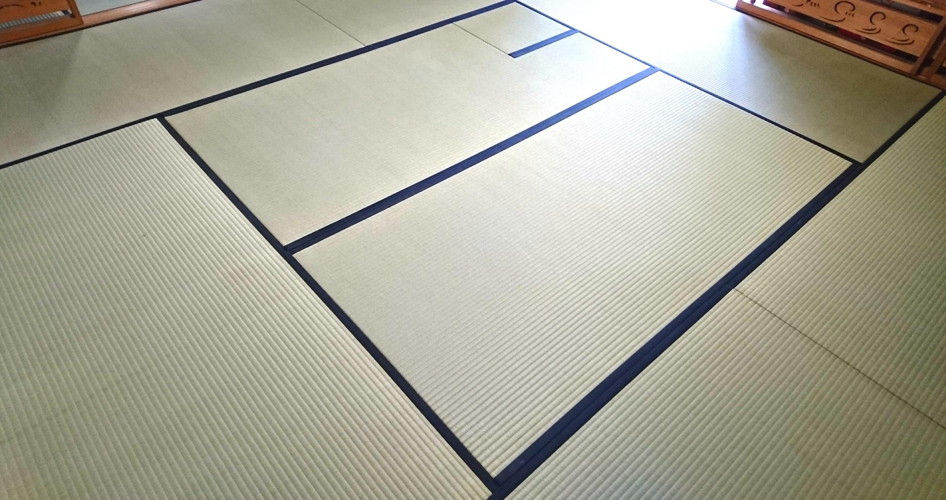 笠間市 畳の新調 茶道教室