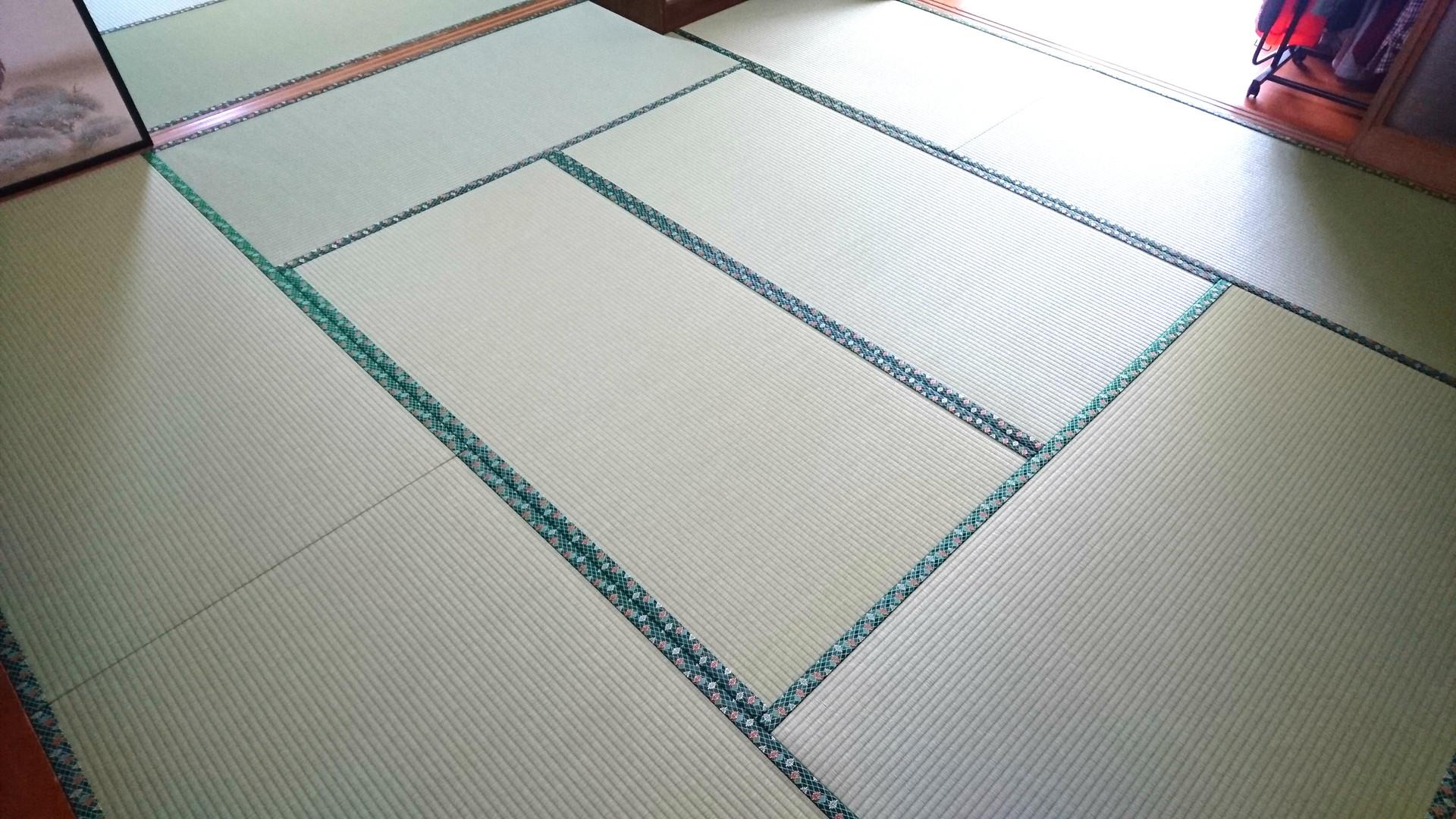 那珂市 畳の新調 和紙畳表 T様