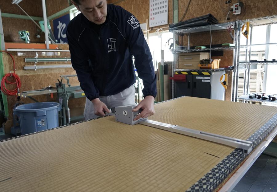 畳製造設備(2)