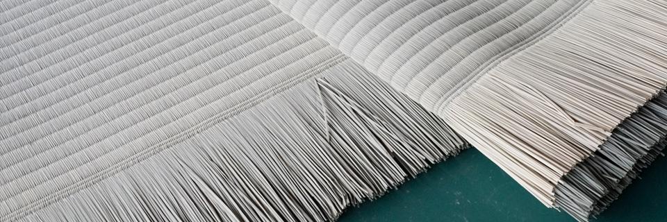 熊本から織られた「い草」の畳表が東海村に届きました