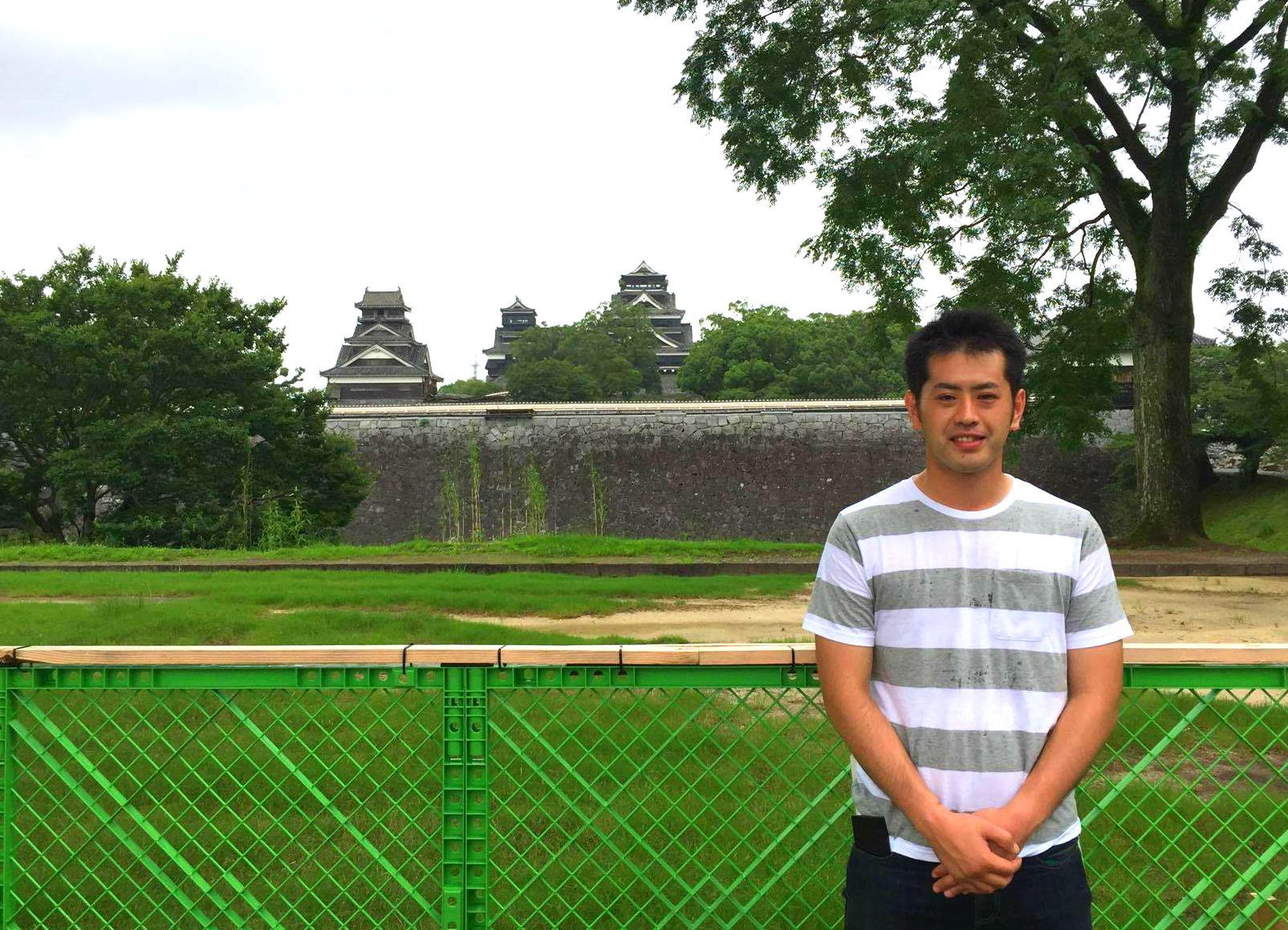 2回目の熊本い草研修⑦「半年ぶりの熊本城 そして益城町へ」