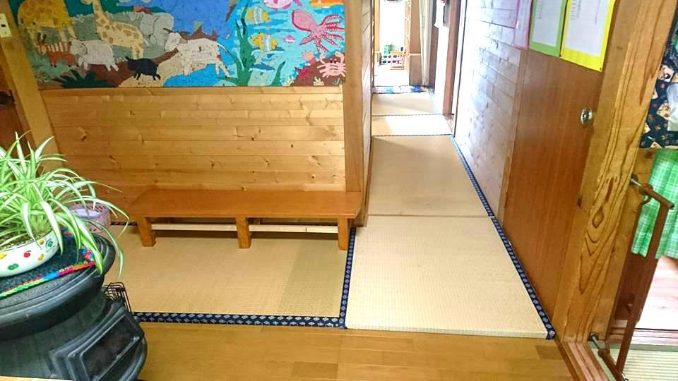 日立市内の保育園様に古畳を寄贈